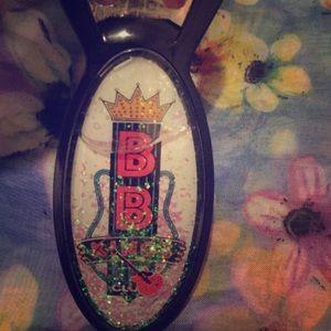 Snow globe bottle opener